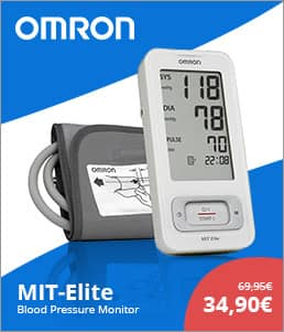 OMRON MIT-Elite Upperarm Bloodpressure Monitor