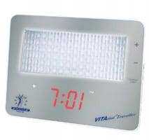 Davita VITAclock Traveller LED Light Alarm Clock