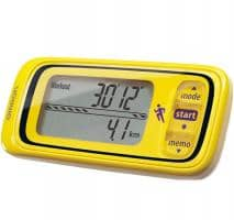 OMRON Jog Style Activity monitor (HJA-300-E) yellow
