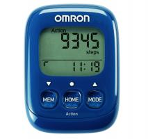 OMRON Walking Style IV Step Counter blue