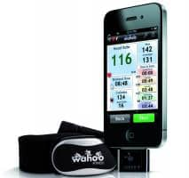 Wahoo ANT+ Running Set Chest Strap for iPhone