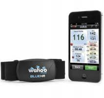 Wahoo Blue HR Chest Strap for iPhone and Smartphones
