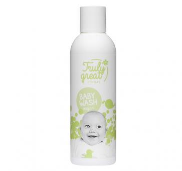 Truly Great Baby Washlotion 200ml Flasche