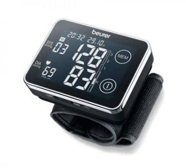 return beurer BC 58 Wrist Blood Pressure Monitor, touch screen display