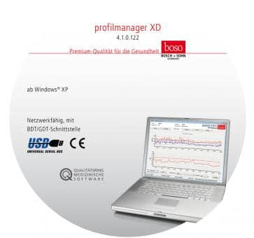 boso profile manager XD Evaluation Software