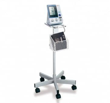OMRON Mobile Stand with Storage Basket for HEM 907 Upper Arm Blood Pressure Monitor