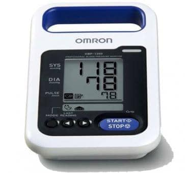 OMRON HBP-1300 (HBP-1300-E) Upper Arm Blood Pressure Monitor