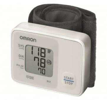 OMRON RS1 (HEM-6120-D) Wrist Blood Pressure Monitor