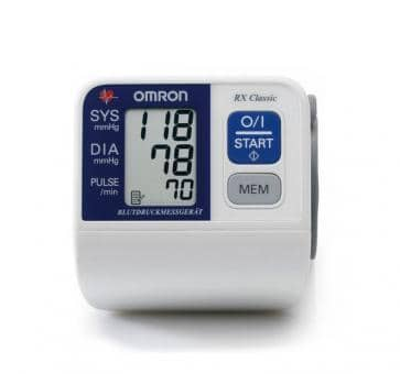 OMRON RX Classic II (HEM-6113-D) Wrist Blood Pressure Monitor