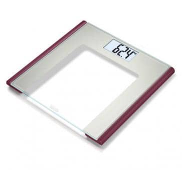 beurer GS 170 Ruby Glas Scale