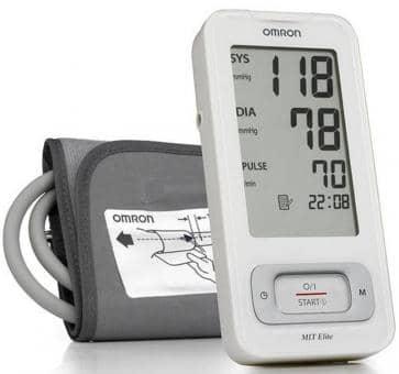 OMRON MIT-Elite (HEM-7300-WE) Upper Arm Blood Pressure Monit