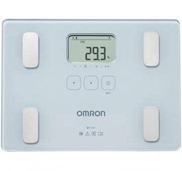 OMRON BF212 Body Composition Monitor (HBF-212-EW)