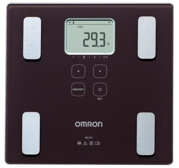 OMRON BF214 Body Composition Monitor (HBF-212-EBW)
