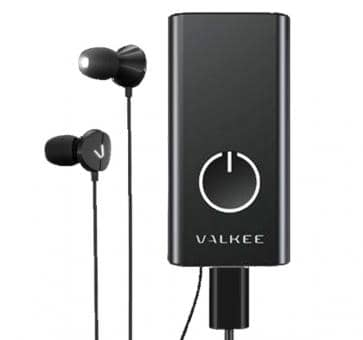 Valkee2 HumanCharger black Light Headset Lichttherapiegerät