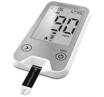 Medisana MediTouch 2 Blood Glucose Monitor connect Dual