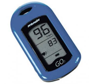 NONIN GO2 9570 Finger Heartrate Oximeter blue