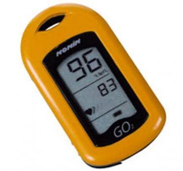 NONIN GO2 9570 Finger Heartrate Oximeter orange