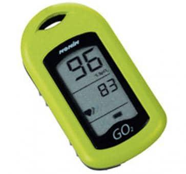 NONIN GO2 9570 Finger Heartrate Oximeter green