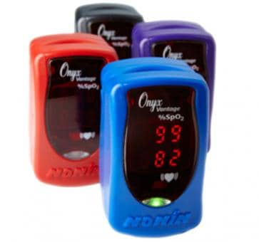 NONIN ONYX Vantage 9590 Finger Heartrate Oximeter blue