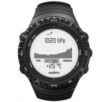 Suunto Core Regular Black Sport Watch