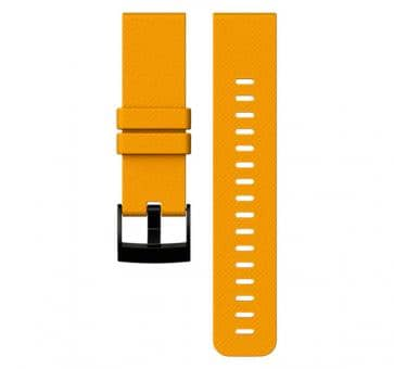 Suunto Traverse Amber Silicone Strap