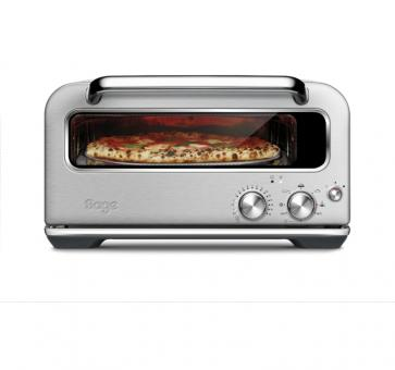 Sage the Smart Oven Pizzaiolo Pizzaofen Brushed Stainless Steel edelstahl