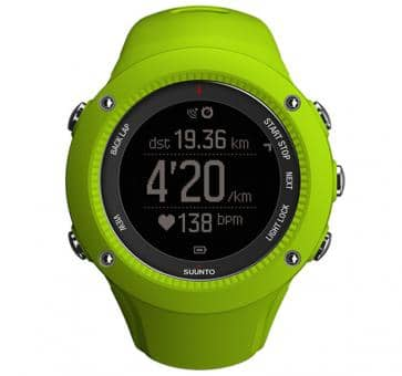 Suunto Ambit3 Run Lime Wrist Computer