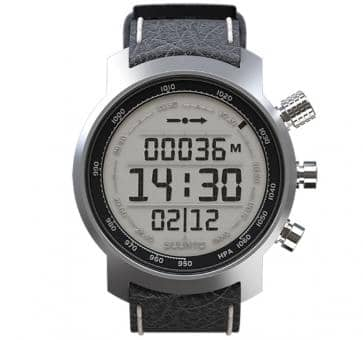 Suunto Elementum Terra Black Leather Sport Watch