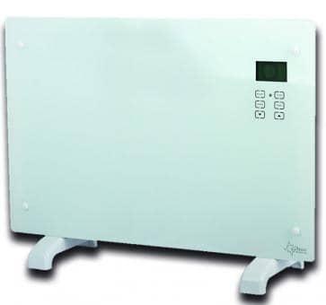 Suntec Heat Screen 2000 white glass convector