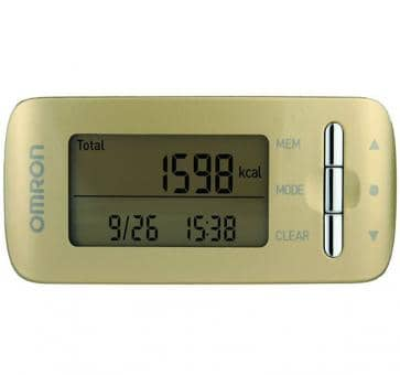 OMRON CaloriScan Activity Monitor HJA-306-EGD gold