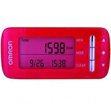Return OMRON CaloriScan Activity Monitor HJA-306-EPK pink