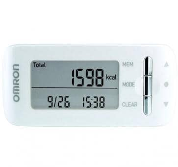 OMRON CaloriScan Activity Monitor HJA-306-EW white