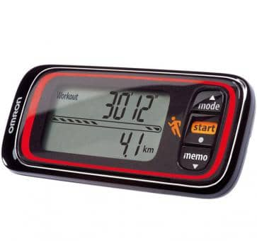 OMRON Jog Style Activity Monitor (HJA-300-E) black